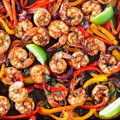 Meal Prep: Mexican-Inspired Sheet Pan Shrimp and Veggies