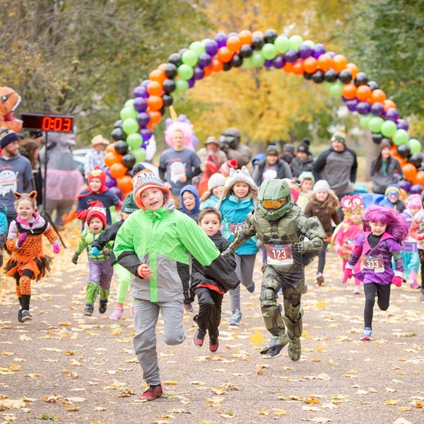 The Seventh Annual Group Health Cooperative of Eau Claire Haunted Hustle